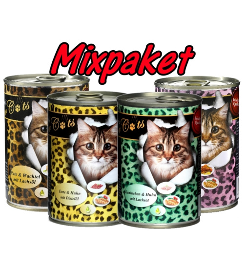 O´Canis for Cats Mixpaket 24 x 400g.