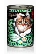 O´Canis for Cats Kaninchen & Huhn mit Lachsöl 400g.