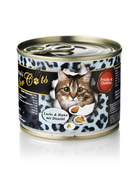O´Canis for Cats Lachs & Huhn mit Distelöl 6 x 200g.