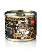 O´Canis for Cats Pute, Wachtel & Lachsöl 6 x 200g.