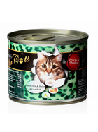 O´Canis for Cats Kaninchen & Huhn mit Lachsöl 6 x 200g.