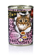 O´Canis for Cats Gans & Huhn mit Distelöl 6 x 400g.