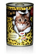 O´Canis for Cats Ente & Huhn mit Distelöl 6 x 400g.