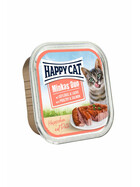 Happy Cat Duo Geflügel & Lachs 12 x 100g.