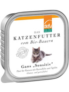 Defu Cat BIO Paté Gans Sensitive 100g.