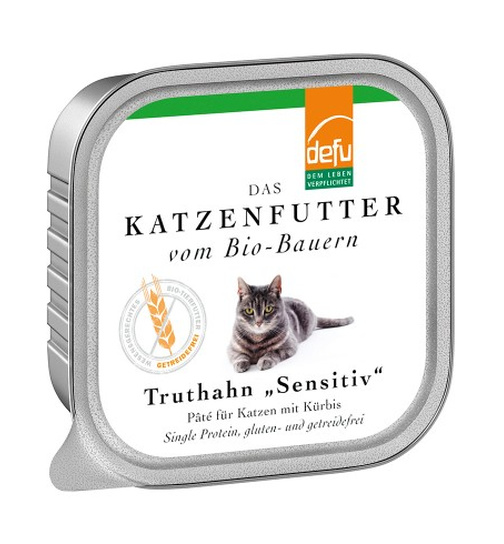 Defu Cat BIO Paté Truthahn sensitive 100g.