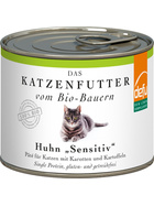 Defu Cat BIO Paté Huhn Sensitive 200g.