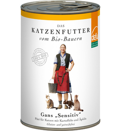 Defu Cat BIO Paté Gans sensitive 410g.