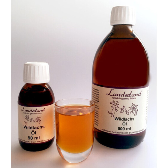 Lunderland Wildlachsöl 90ml.