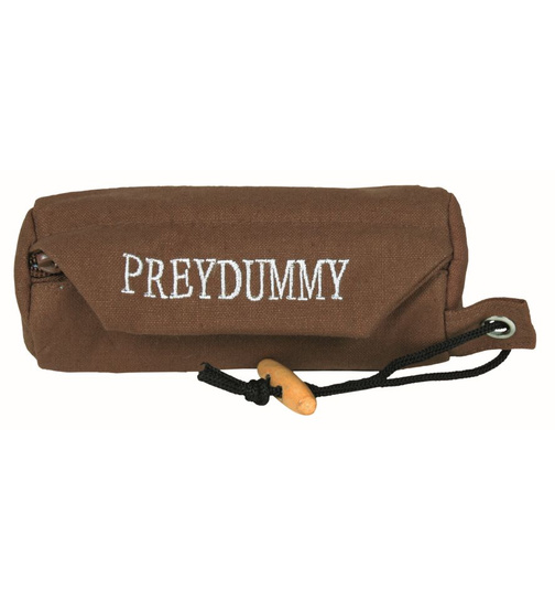 Preydummy Canvas mini 6 x 14 cm braun