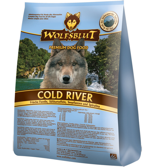 Wolfsblut Cold River 500g.