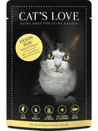 Cat´s Love Huhn pur 12 x 85g.