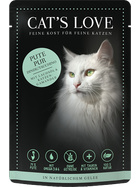 Cat´s Love Pute pur 85g.-Beutel