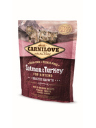 Carnilove Kitten Salmon & Turkey 400g.