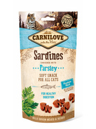 Carnilove Cat SOFT Snack Sardine with Parsley 50g.