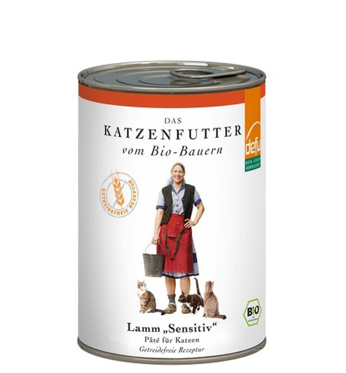 Defu Cat BIO Paté Lamm sensitive 410g.