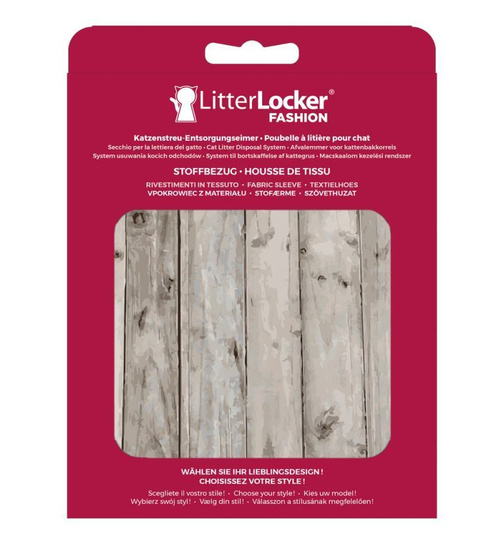 Stoffbezug für den LitterLocker Fashion Wood