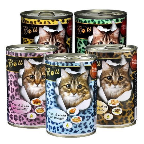 O´Canis for Cats Probierpakerl 6 x 400g.