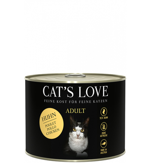 Cat´s Love Huhn pur 200g.