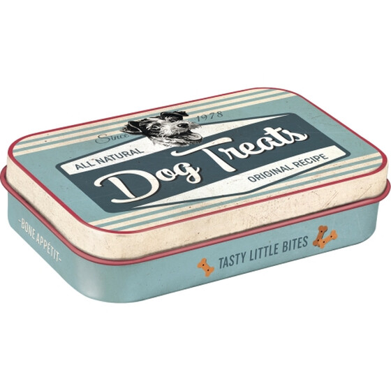 Nostalgic Art Leckerli-Dose Dog Treats blau