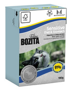 Bozita Cat Feline Sensitive Diet & Stomach 190g.